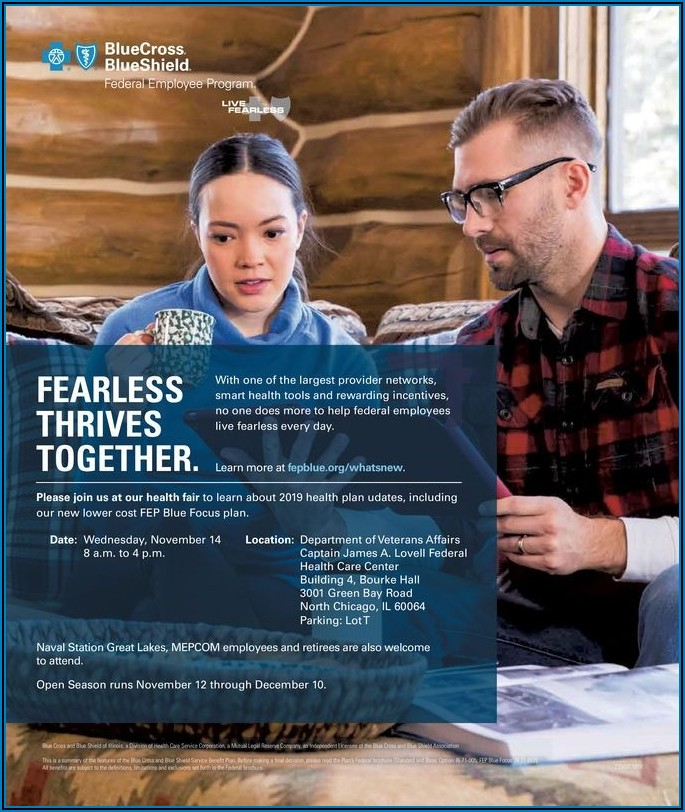 Blue Cross Blue Shield Federal Employee Program 2019 Brochure