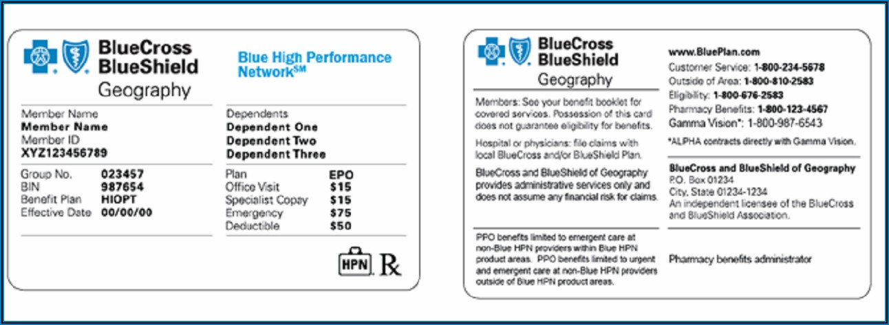 Blue Cross Blue Shield Fehb 2019 Brochure