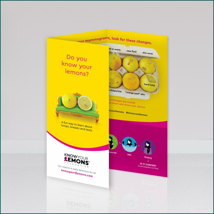 Breast Self Exam Brochure In Spanish