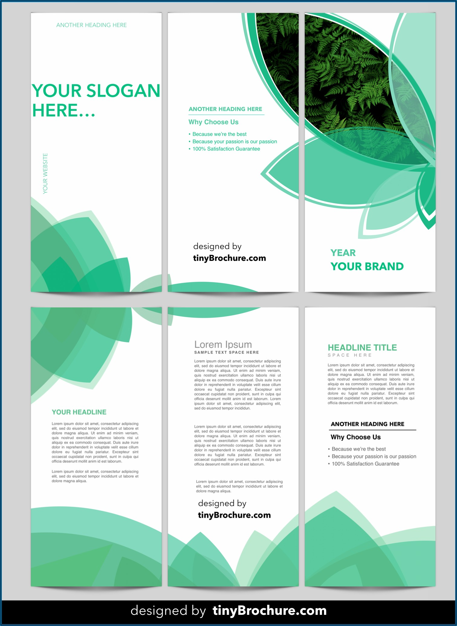 Brochure Template Free Download Word