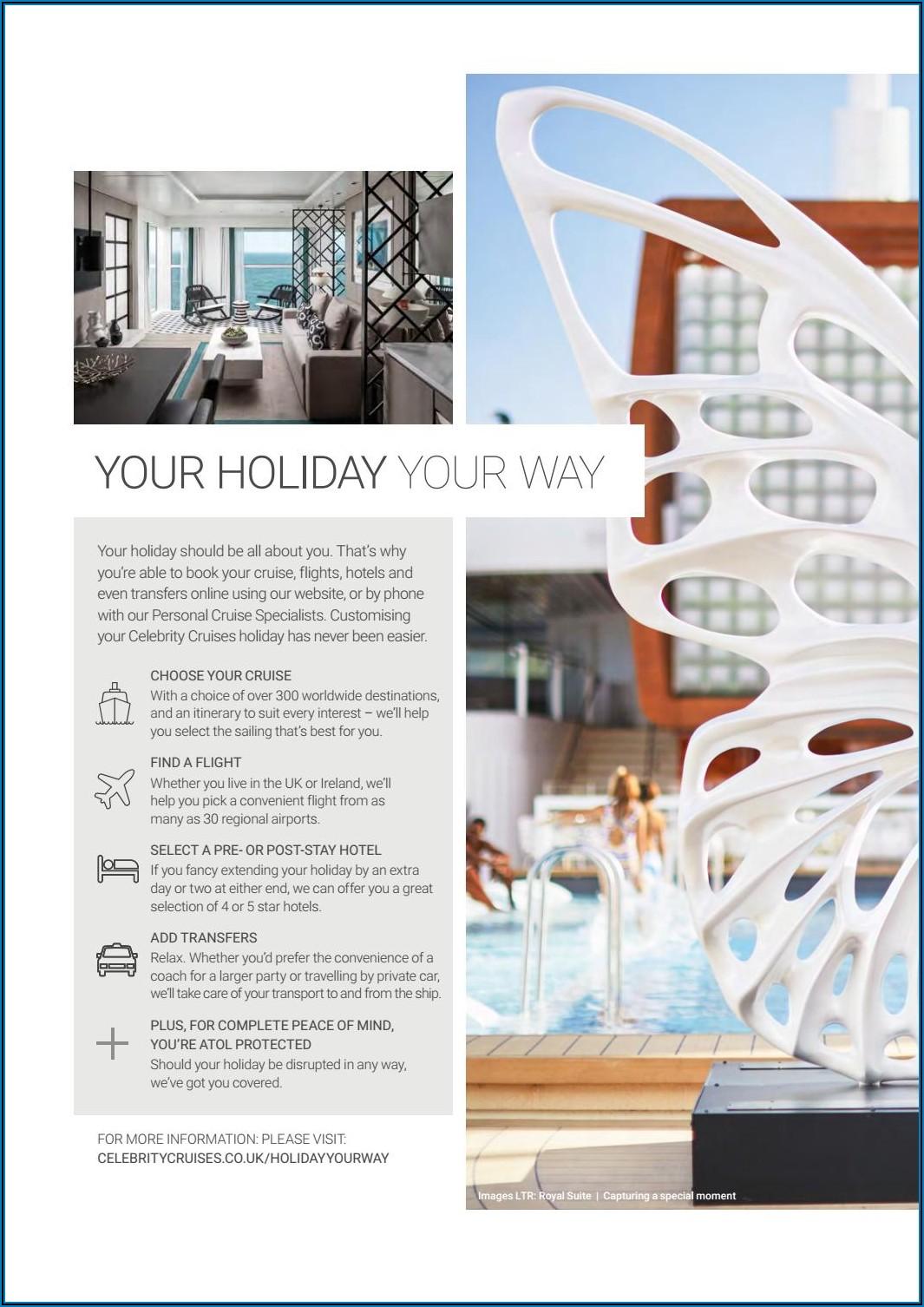 Celebrity Cruises Brochure 2020