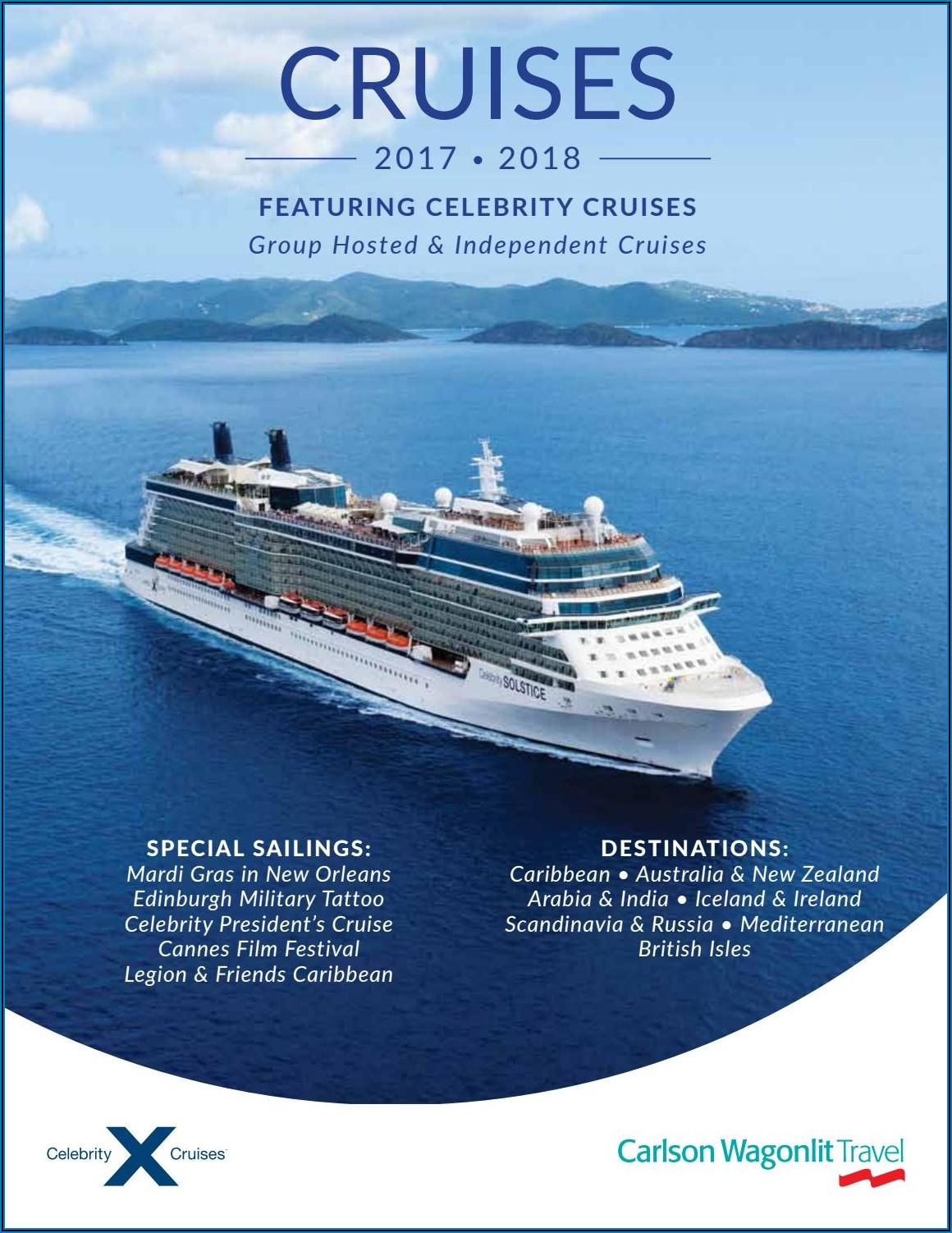 Celebrity Cruises Brochure Order