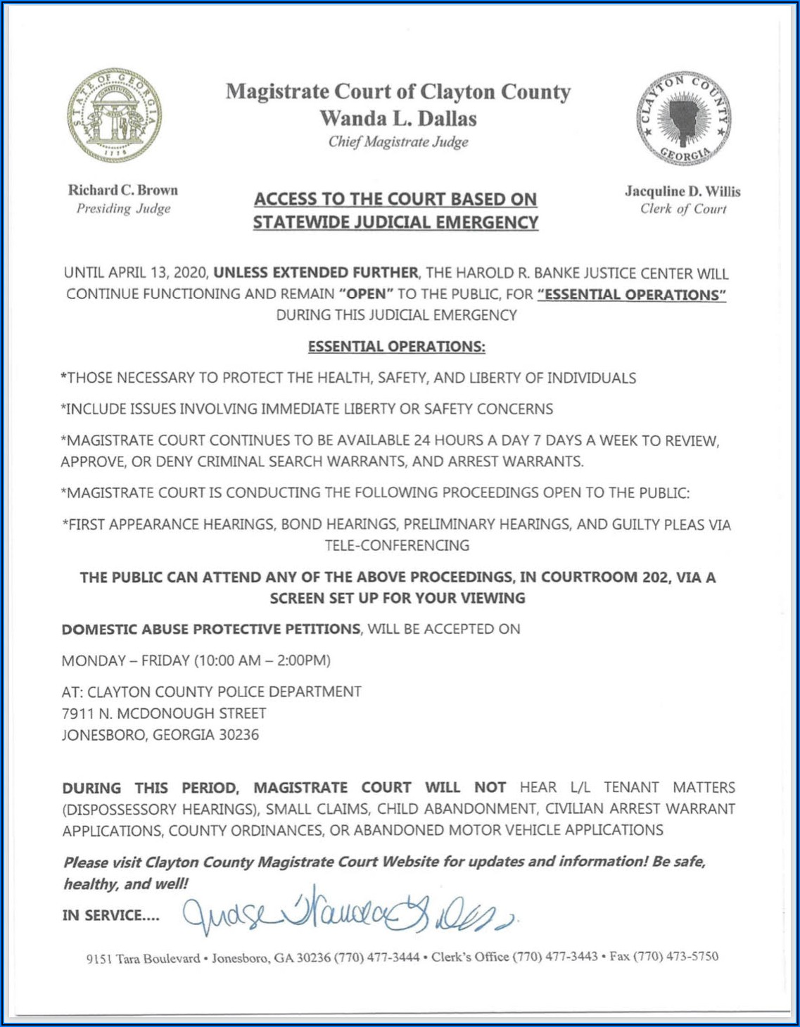 Clayton County Magistrate Court Forms