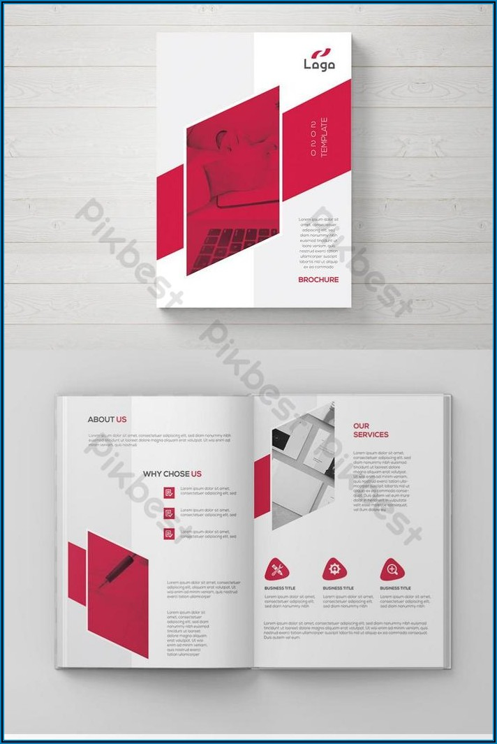 Company Brochure Design Template Free Download