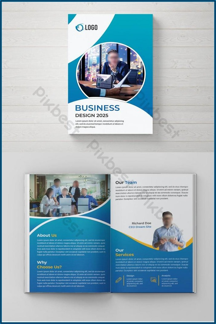 Corporate Brochure Psd Template Free Download