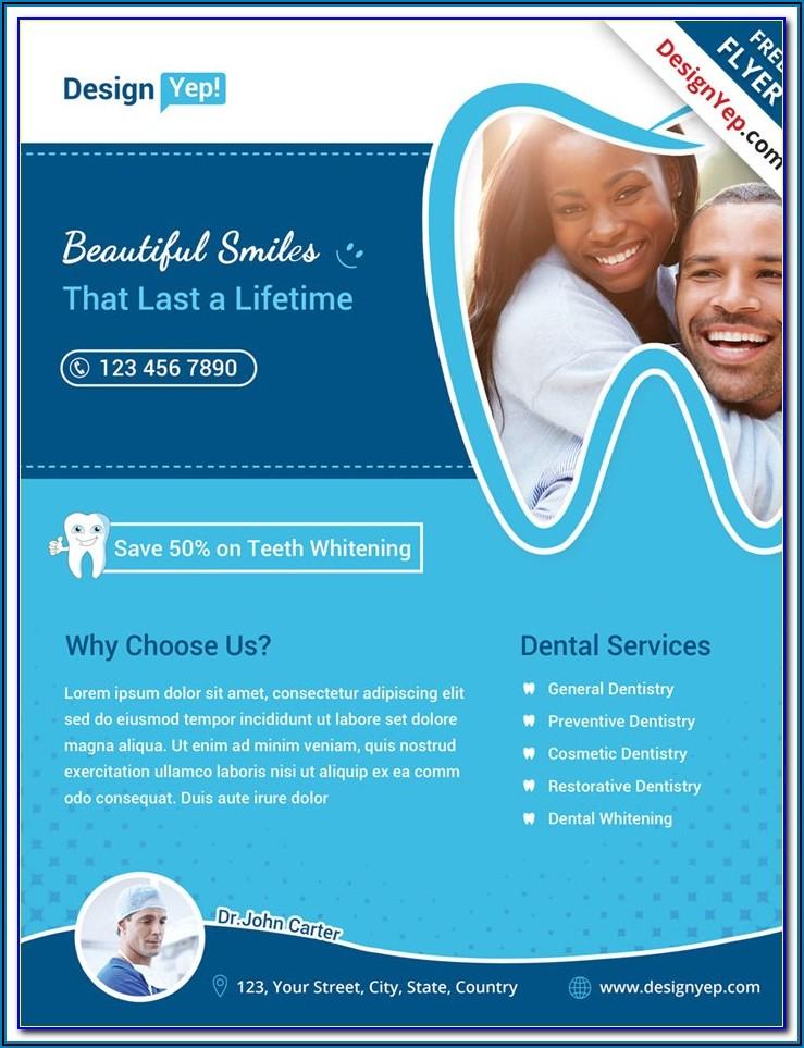 Dental Brochure Templates Free Download