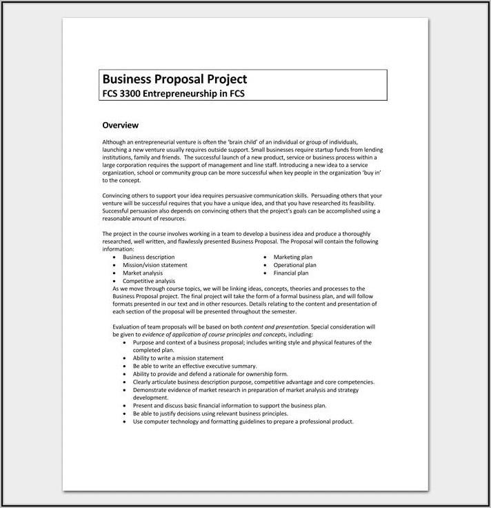 Digital Marketing Proposal Template Free Download