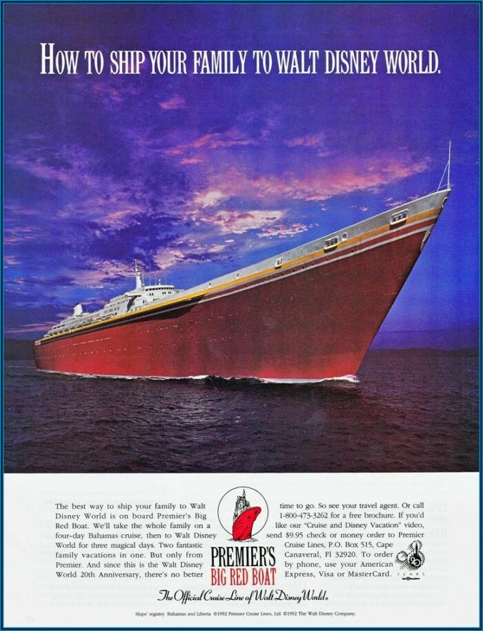 Disney Cruise Line Brochure Order