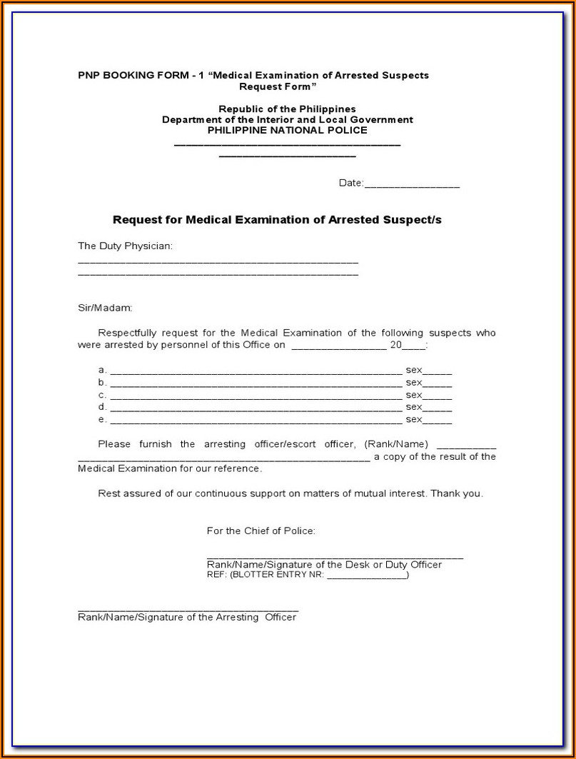 Dot Forms For Physical Exam