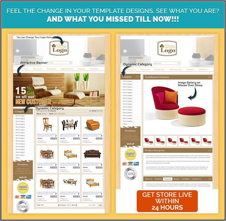 Ebay Listing Template Design Free