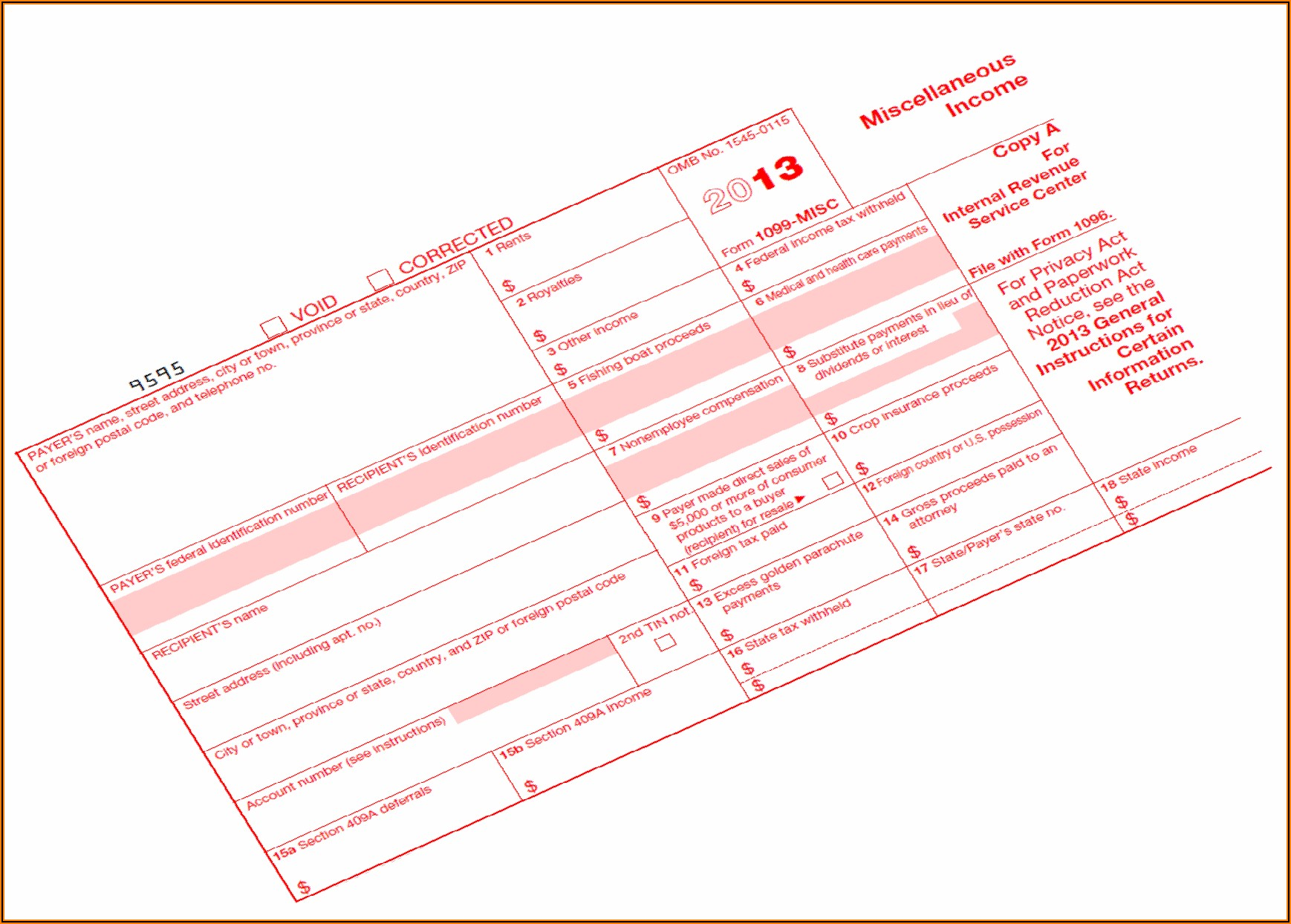 Electronic Filing Of 1099 Misc Forms