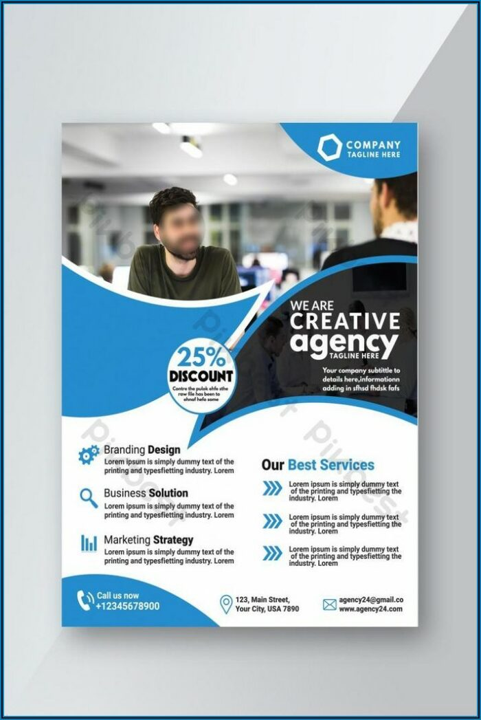 Flyer Design Template Free Download Psd
