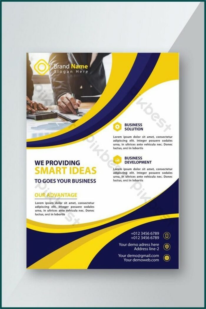 Flyer Template Ai Free