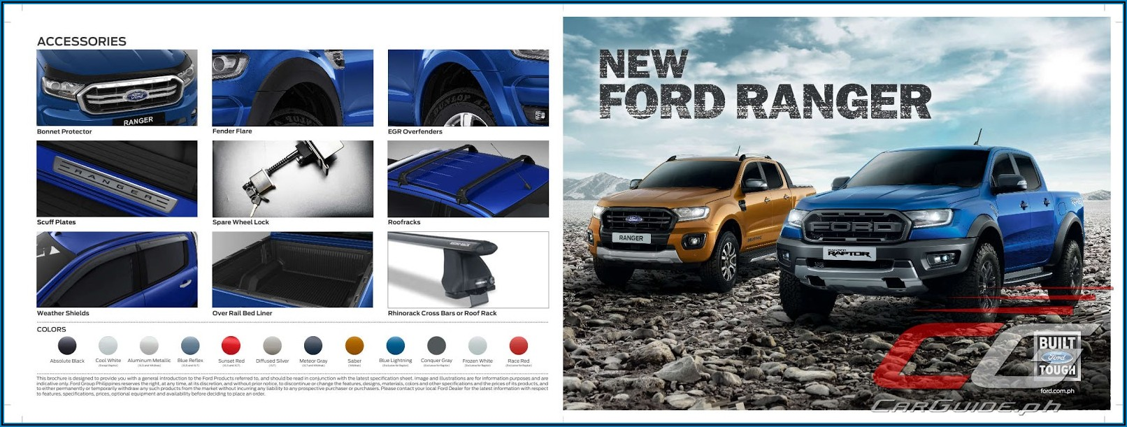 Ford Raptor Brochure Pdf