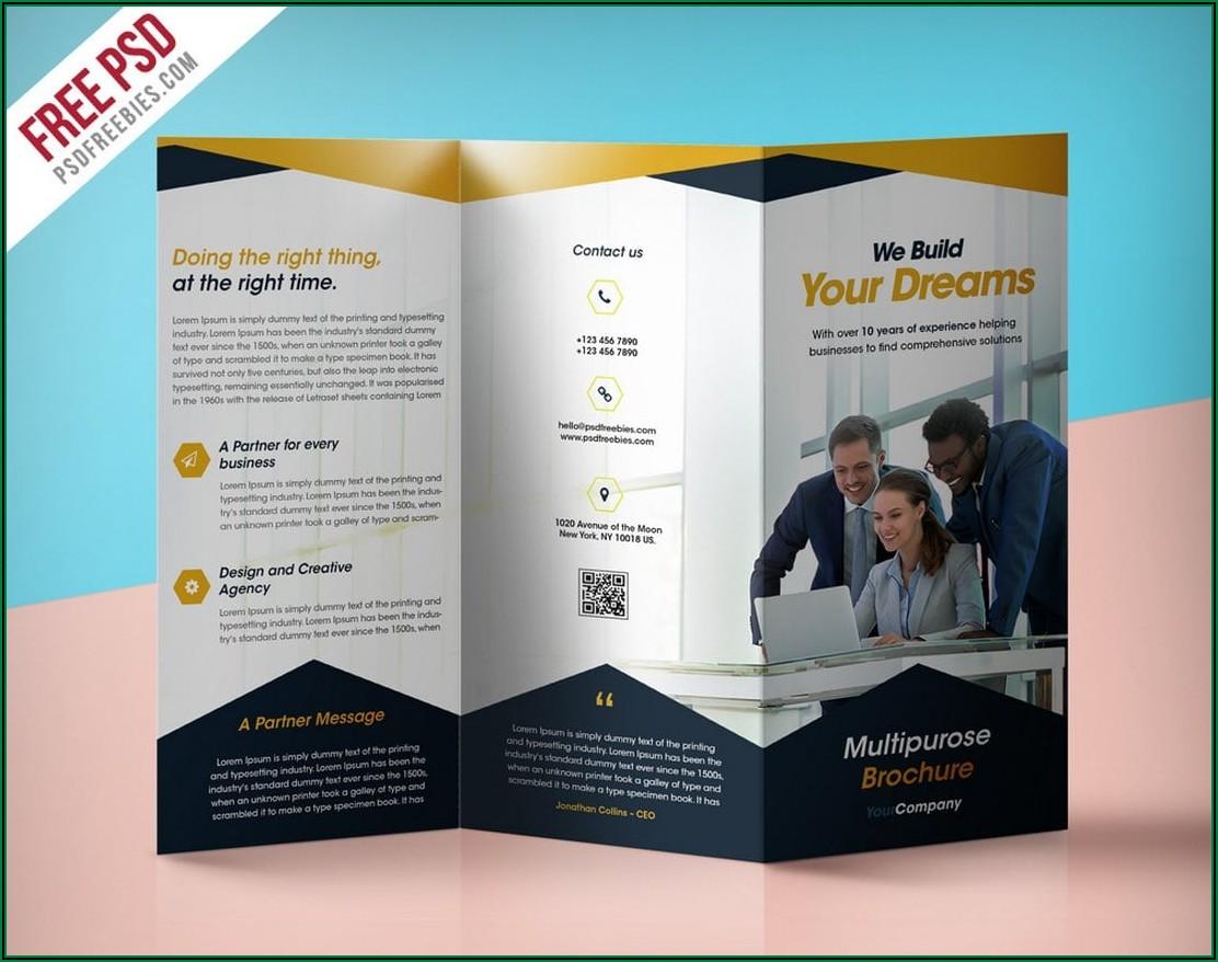 Free Business Marketing Booklet Templates