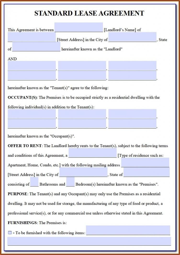 Free Car Rental Agreement Form Pdf