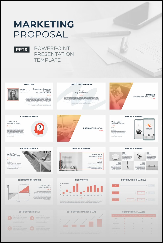 Free Digital Marketing Proposal Template Ppt