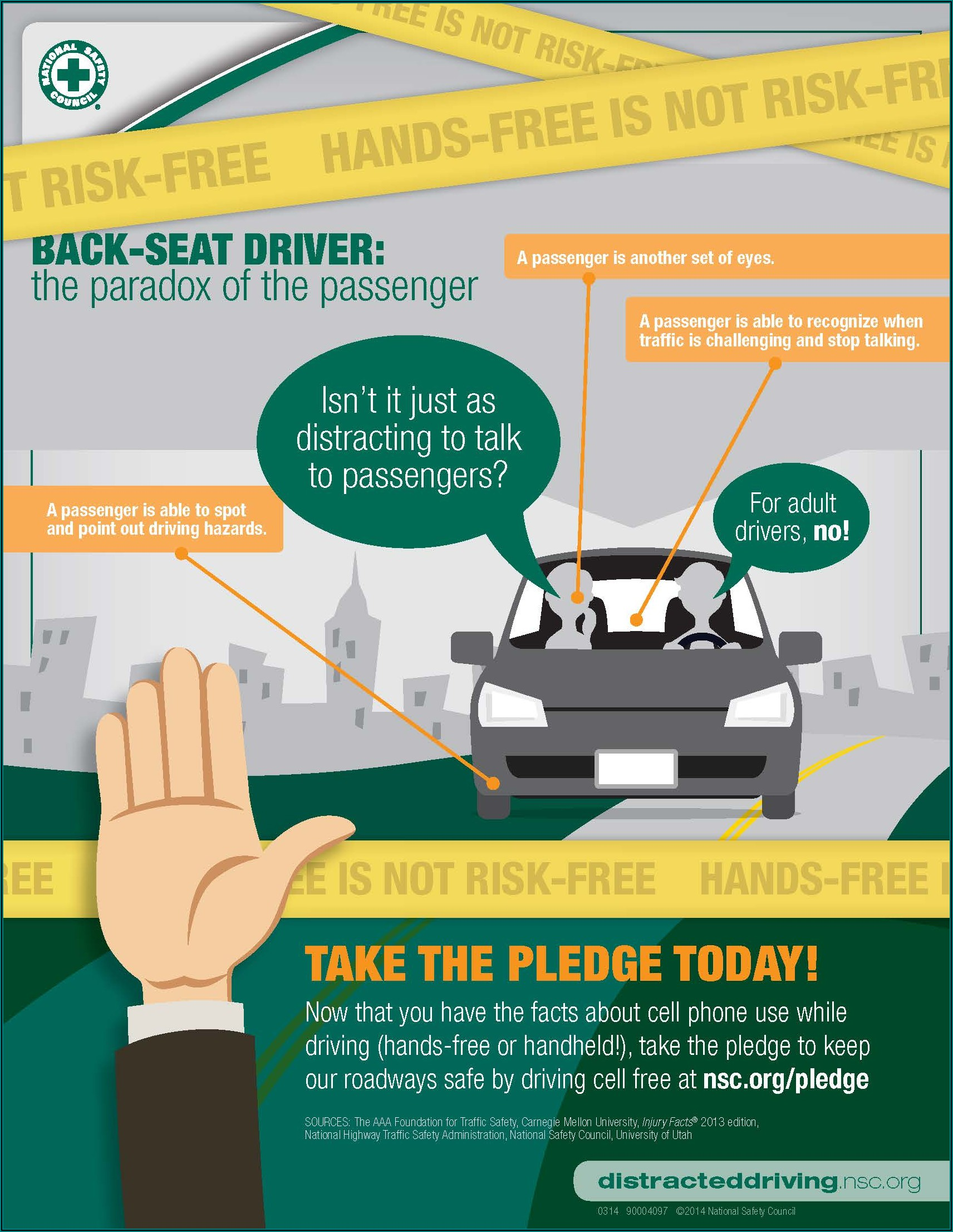 Free Distracted Driving Brochures
