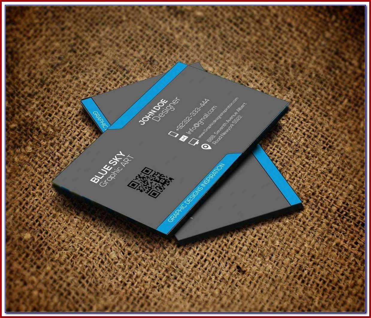 Free Double Sided Postcard Template
