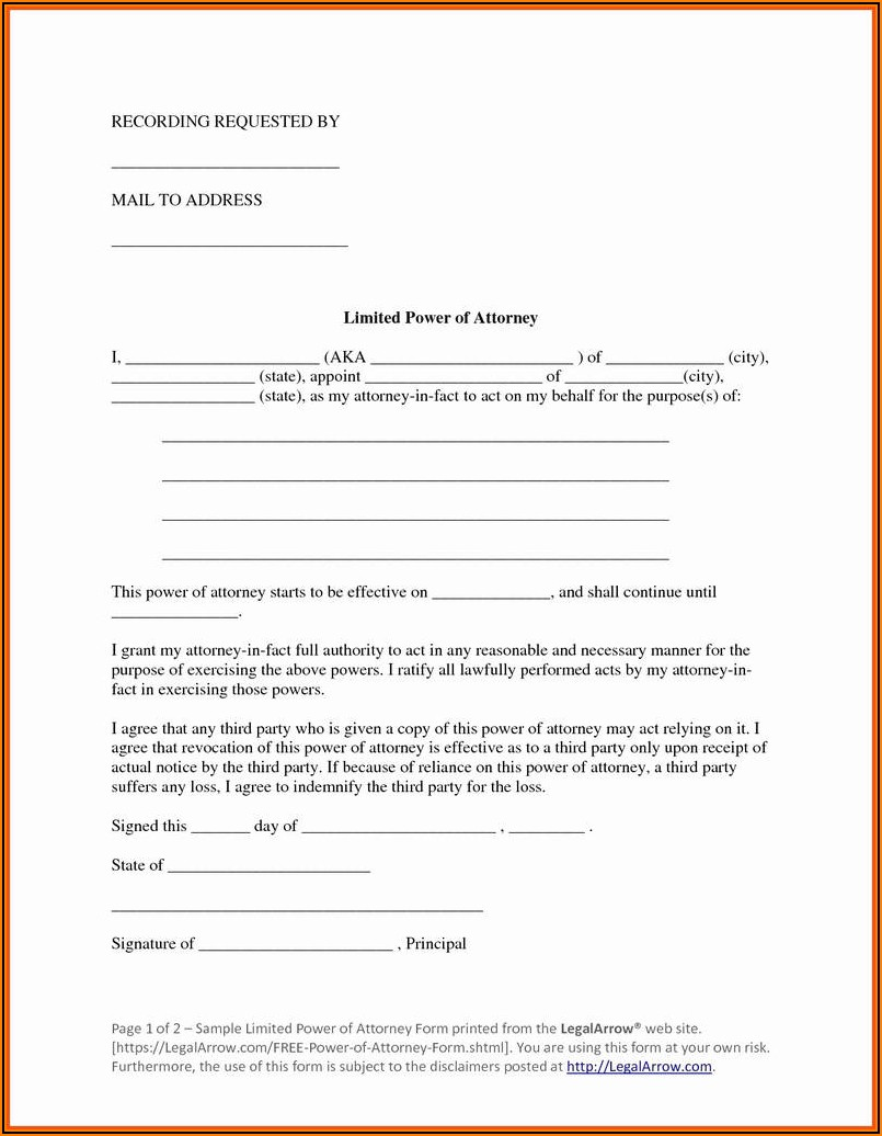 Free Georgia Medical Power Of Attorney Forms To Print