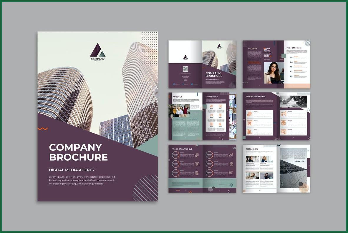 Free Product Marketing Brochure Templates