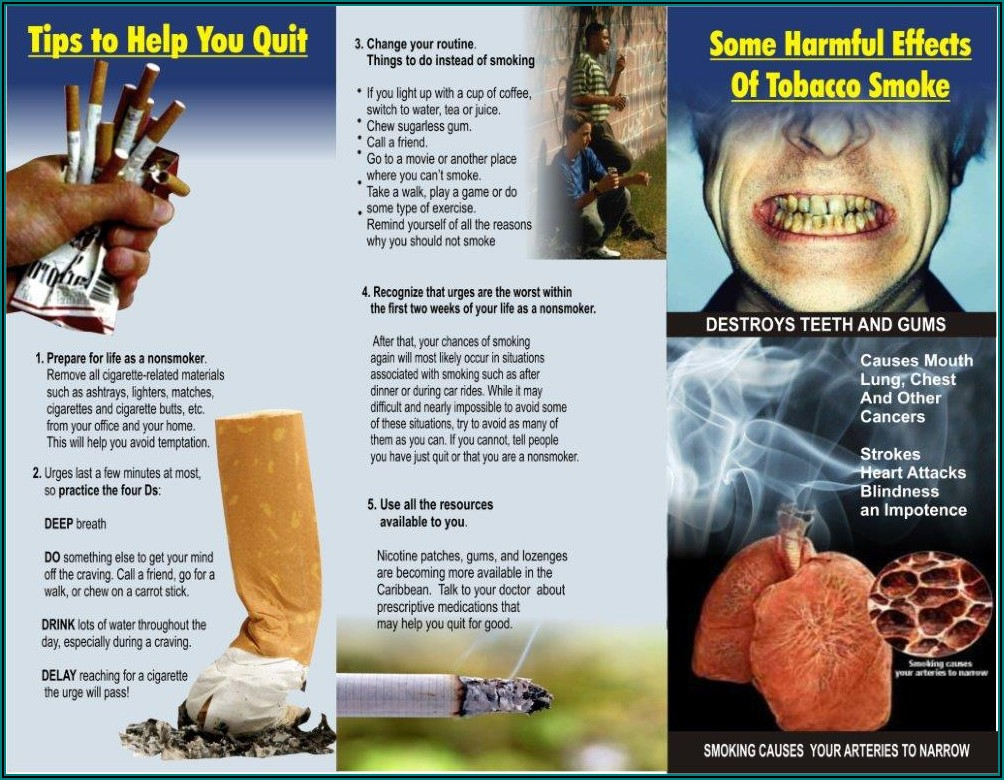 Free Quit Smoking Brochures