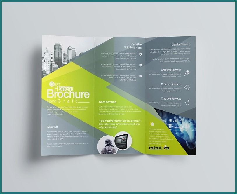 Free Template Tri Fold Brochure Microsoft Word