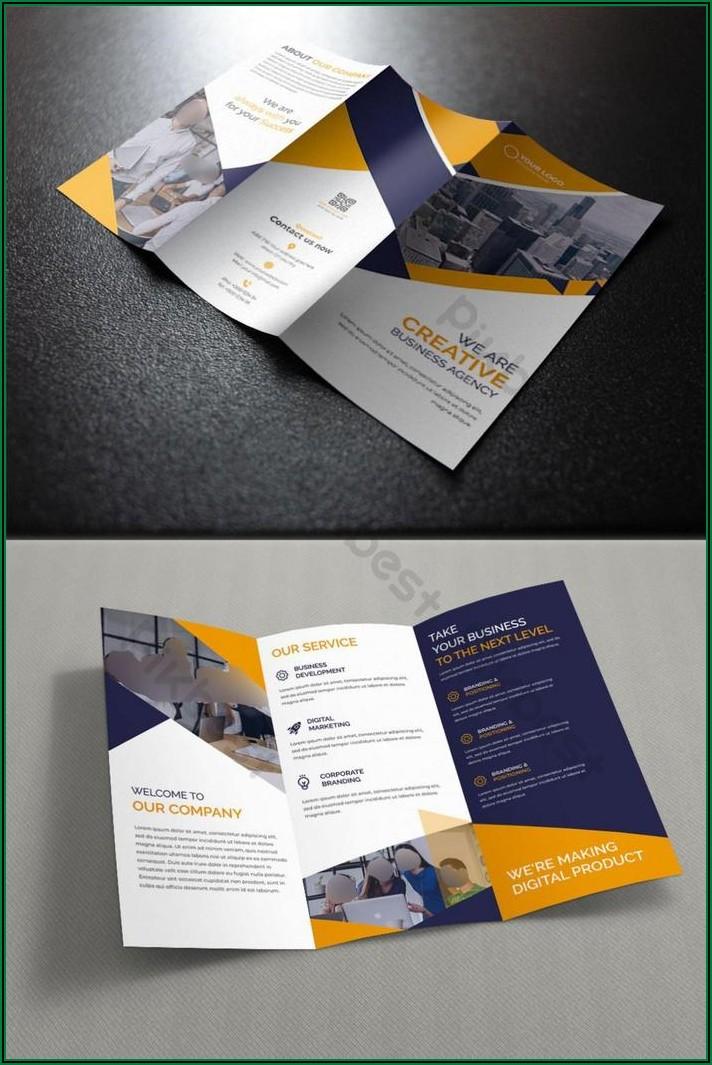 Free Tri Fold Brochure Template Ai