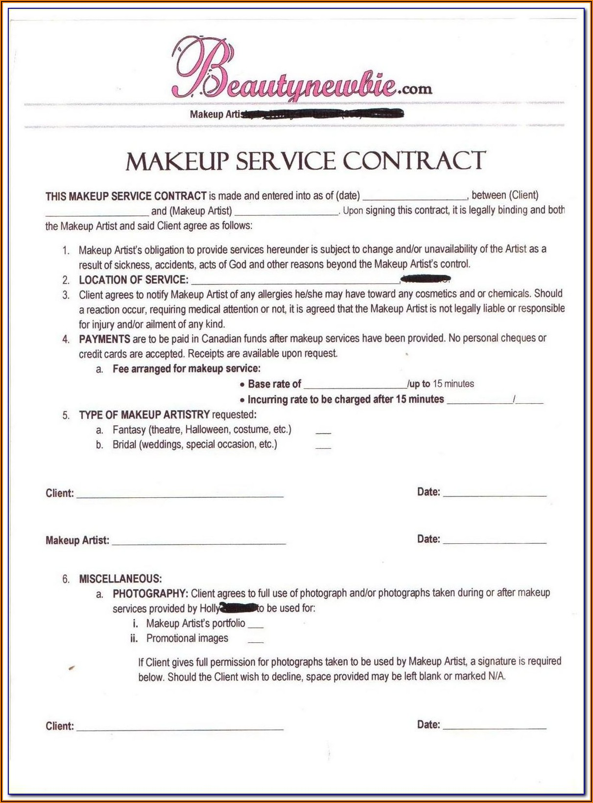 Gdpr 3rd Party Contract Template