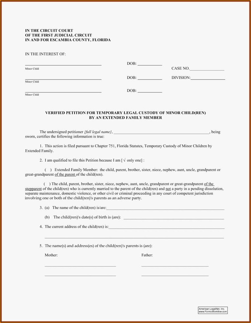 Guardianship Papers In Texas