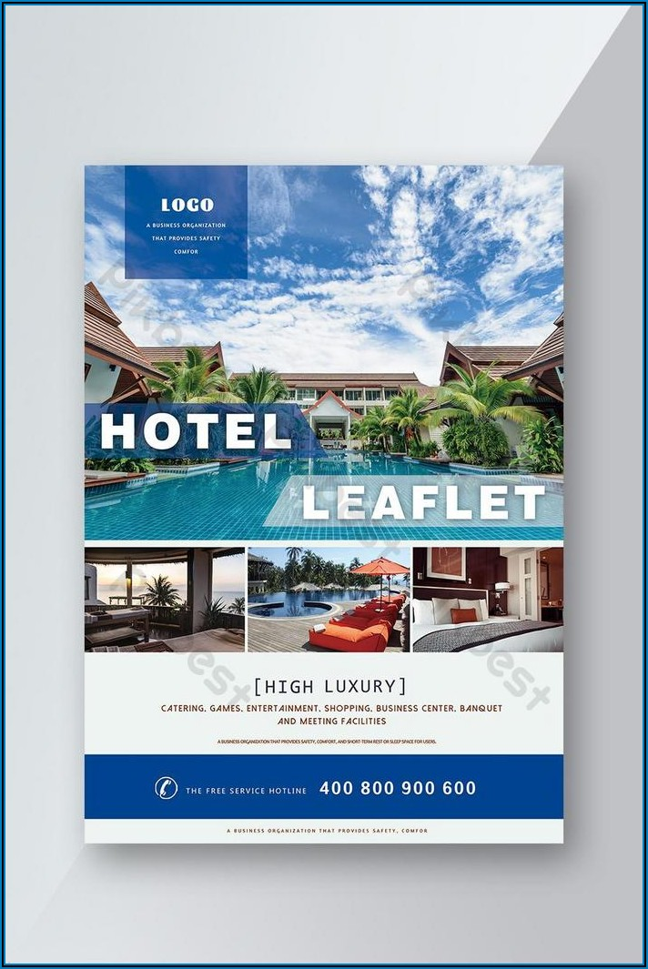 Hotel Brochure Background Design Free