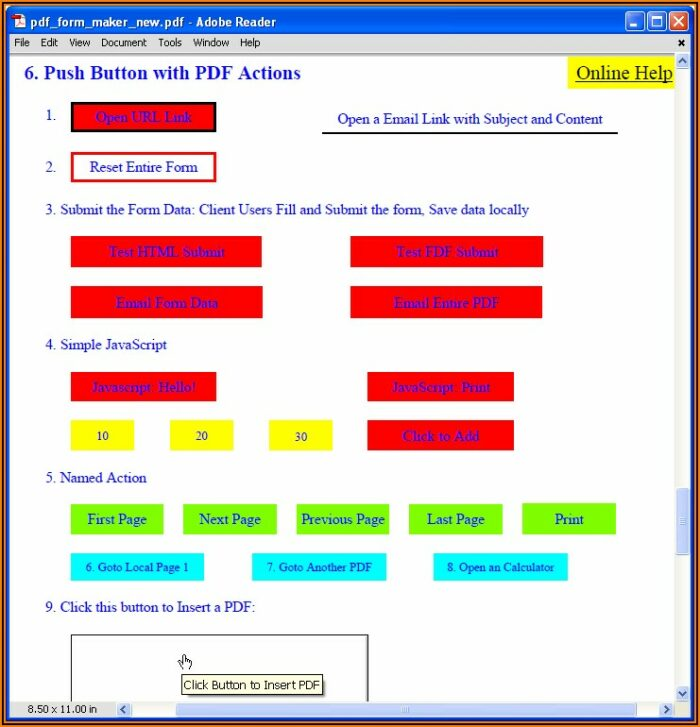 How To Create A Fillable And Savable Pdf Form