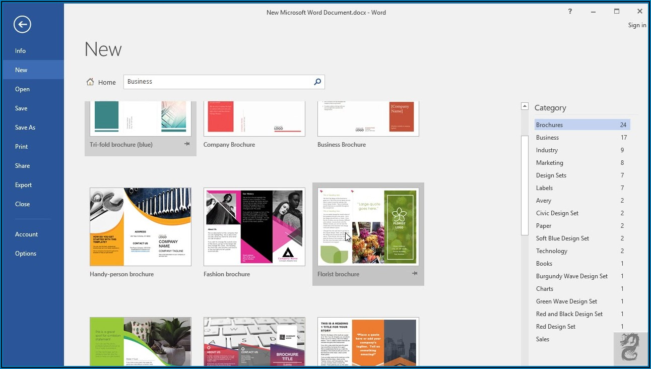 How To Make A Trifold Brochure In Microsoft Word 2010