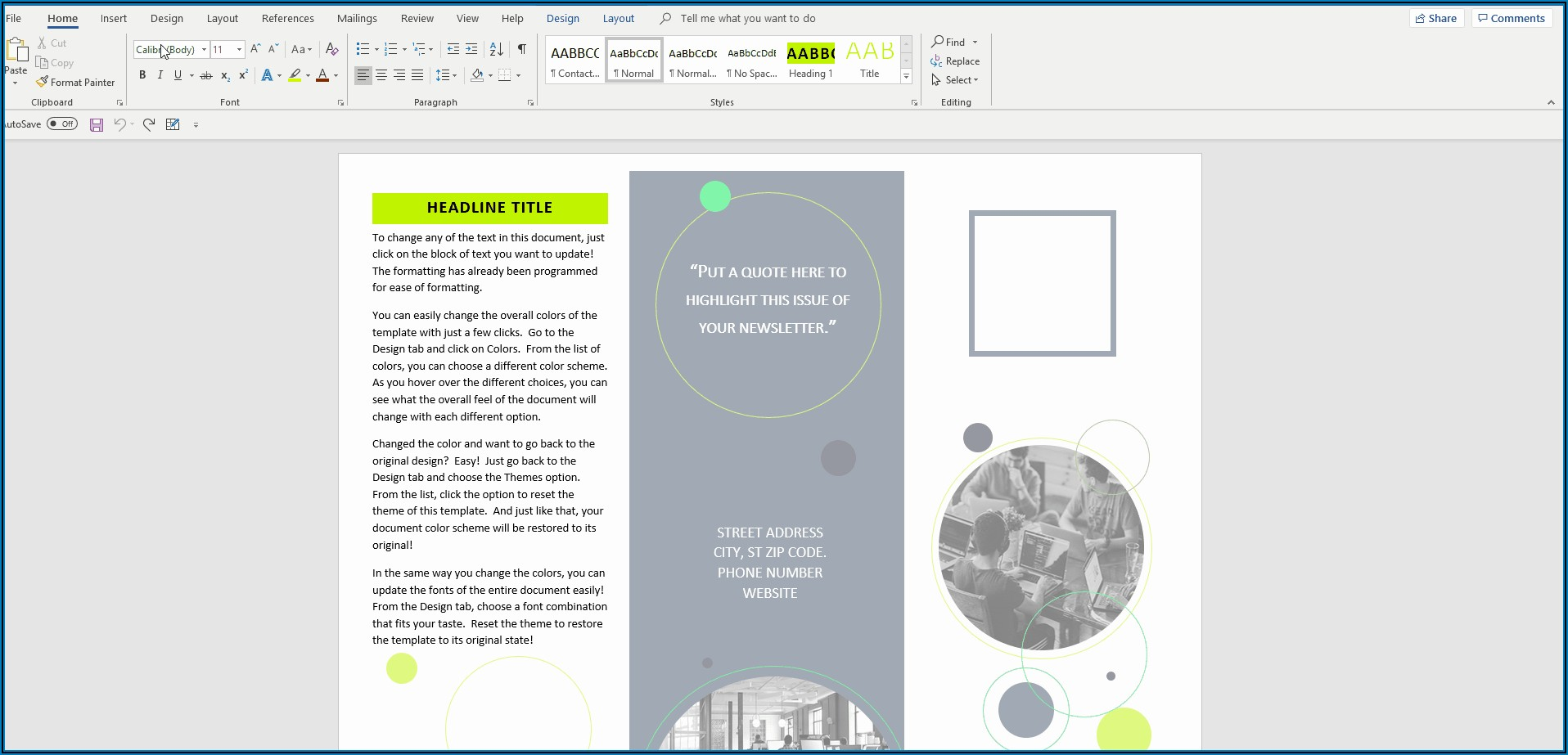 How To Make A Trifold Leaflet In Word 2010