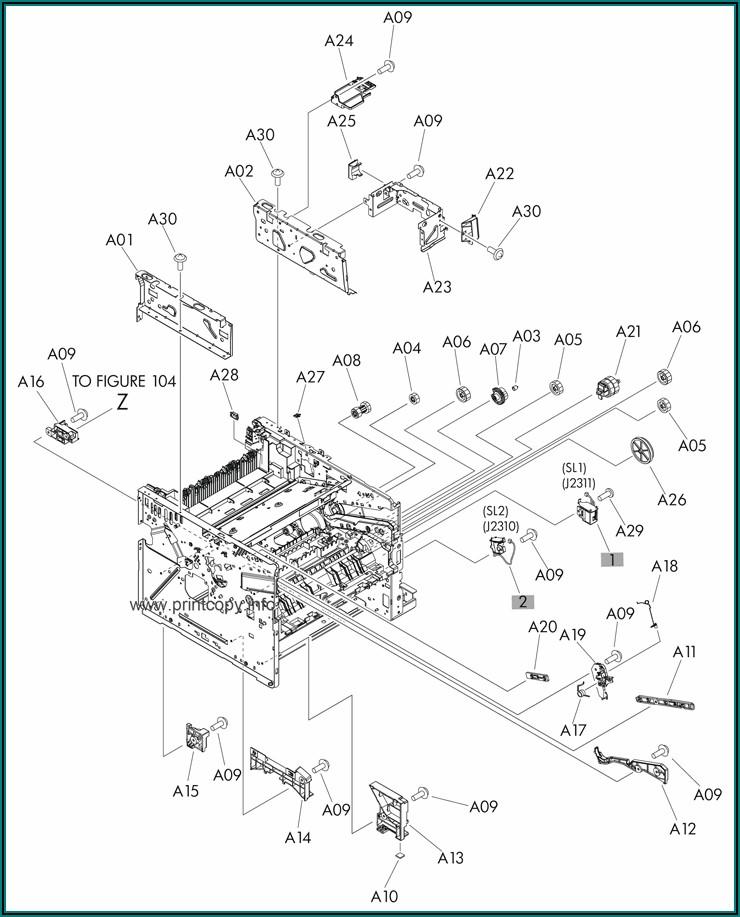 Hp Laserjet Pro Mfp M521dn Parts Catalog
