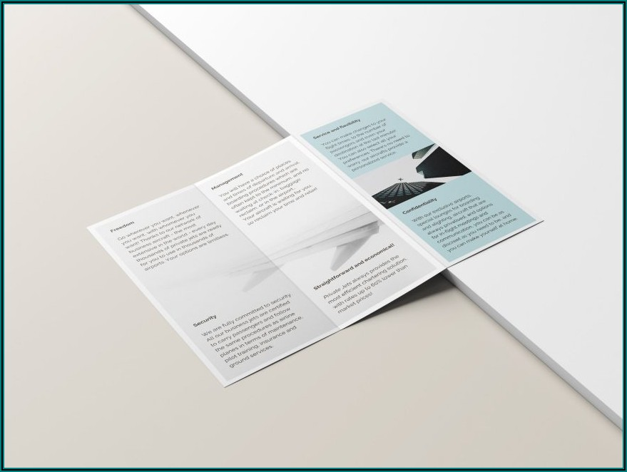 Hp Tri Fold Brochure Template
