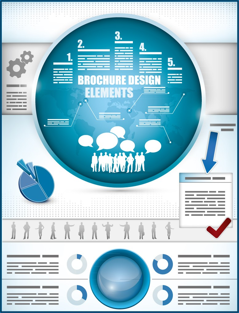 Infographic Brochure Design Free