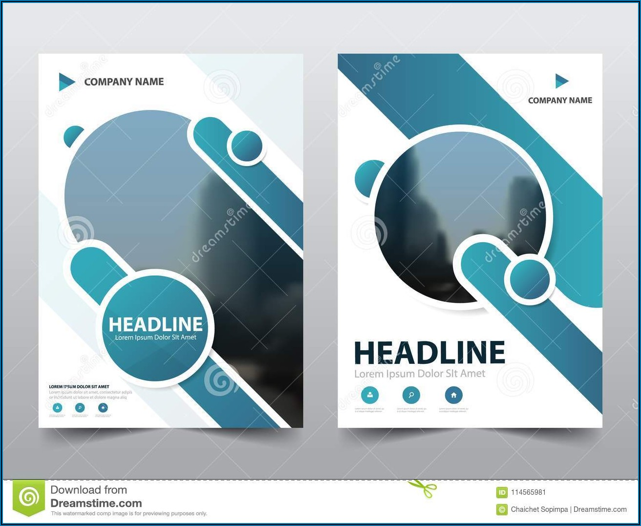 Infographic Brochure Design Templates Free Download