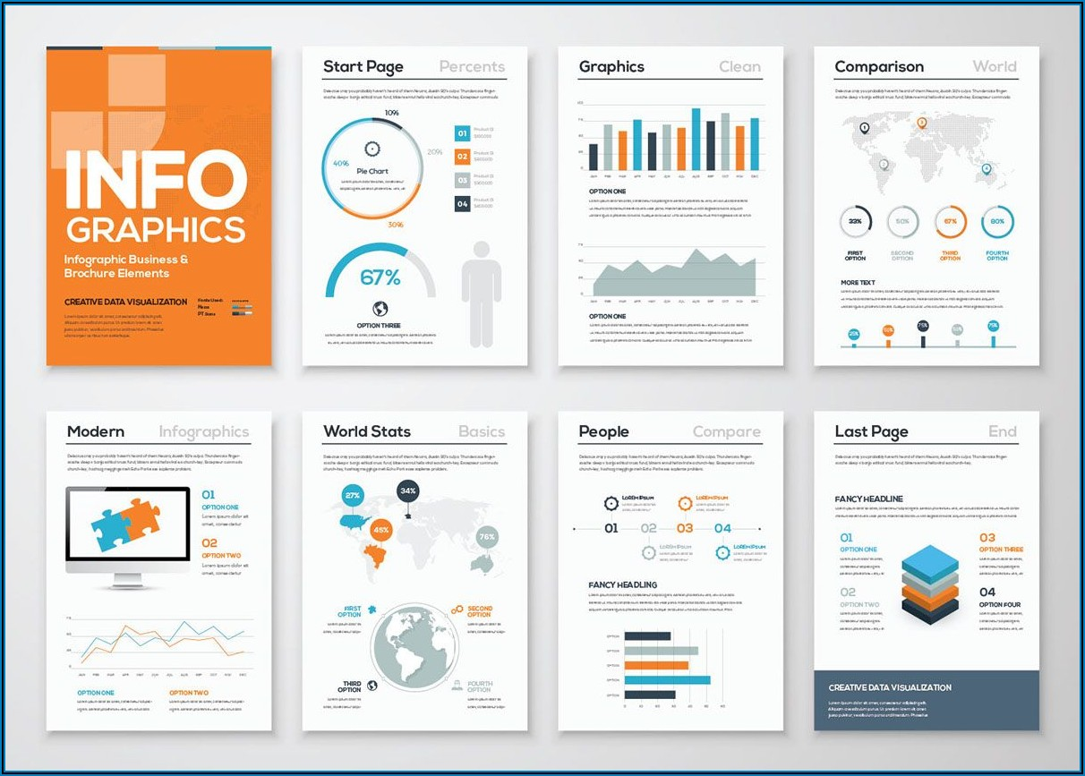 Infographic Brochure Template Free