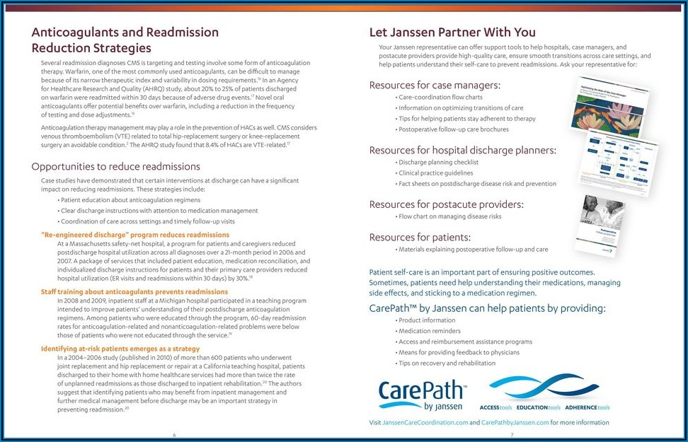 Janssen Carepath Trial Offer Brochure Xarelto