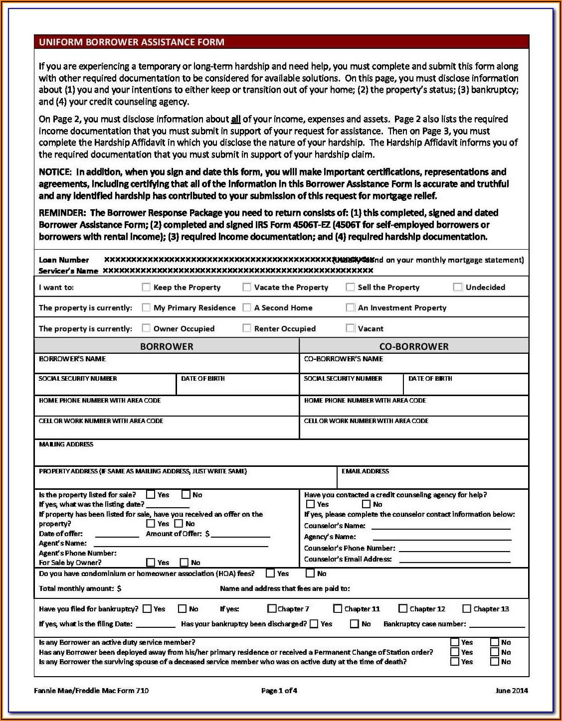 Loan Modification Agreement Form 3179