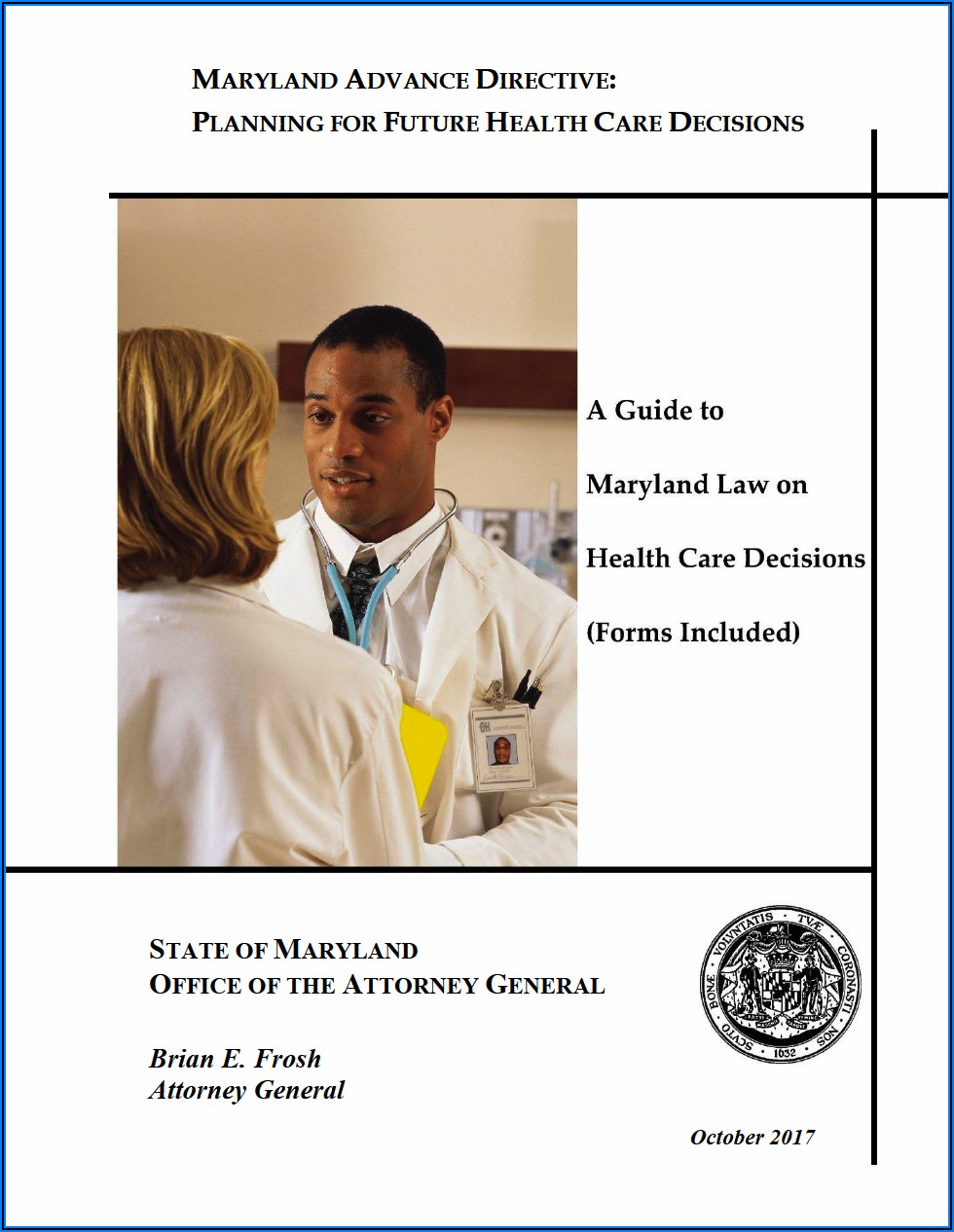 Maryland Medical Power Of Attorney Forms