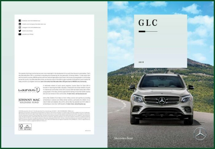 Mercedes Glc 2019 Brochure Pdf