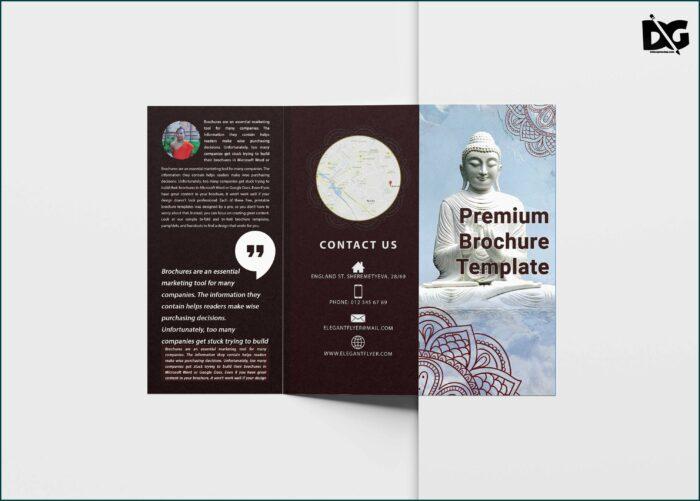 Microsoft Word Tri Fold Brochure Template Free