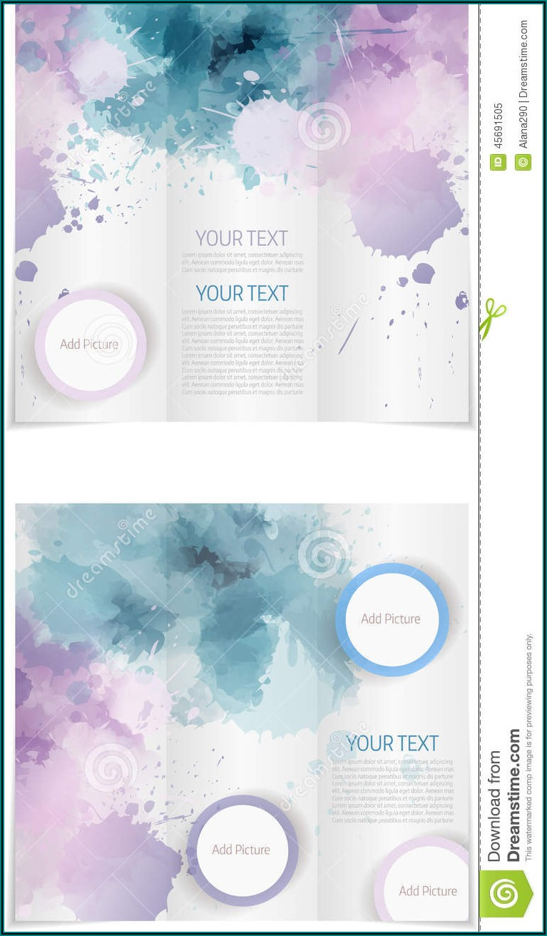 Microsoft Word Tri Fold Brochure Templates Free Download