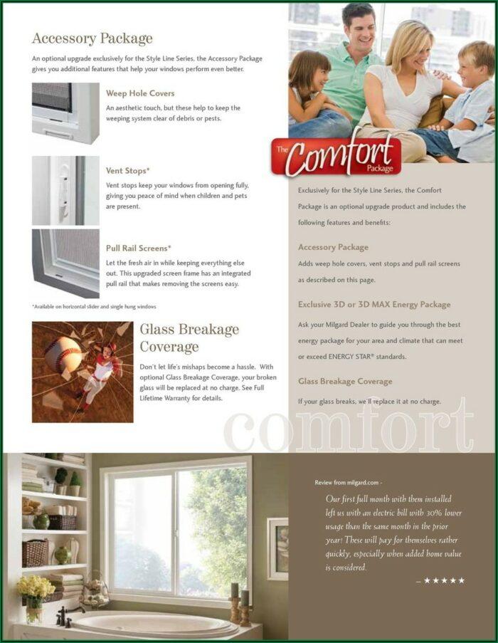 Milgard Styleline Brochure Pdf