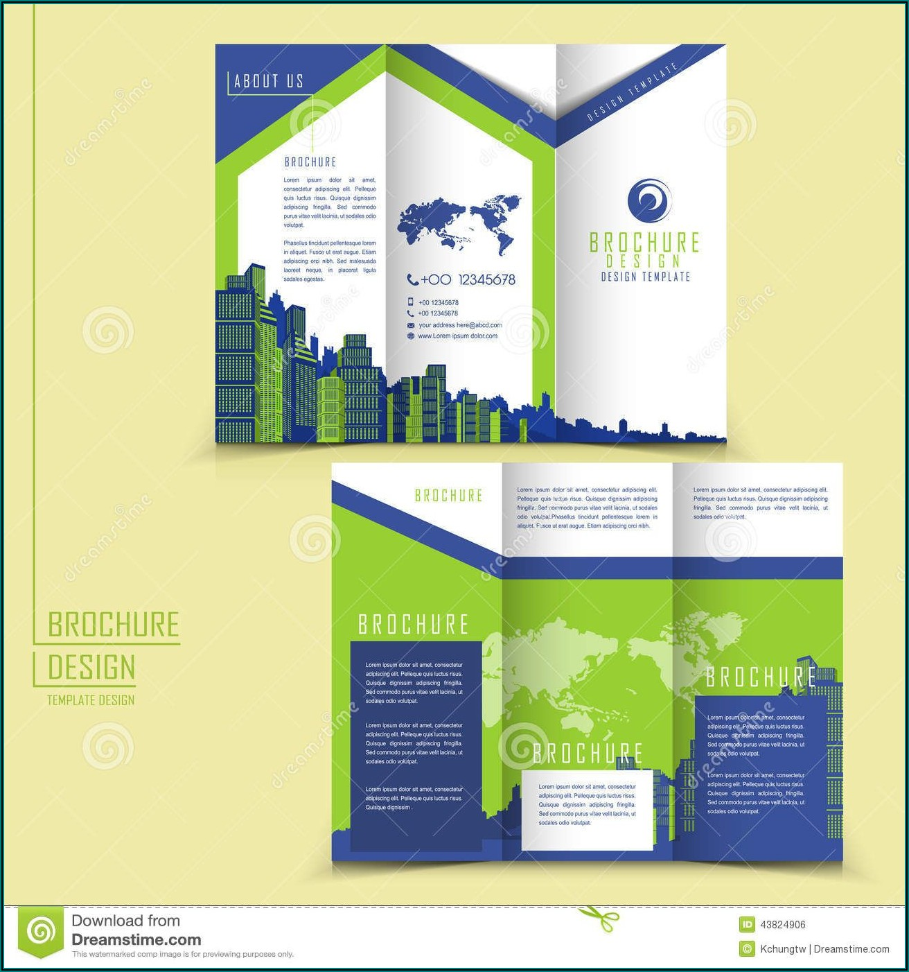 Ms Word Tri Fold Brochure Template Free