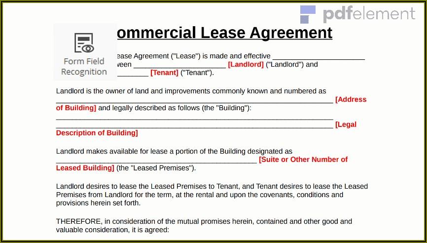 Office Rental Agreement Template Uk