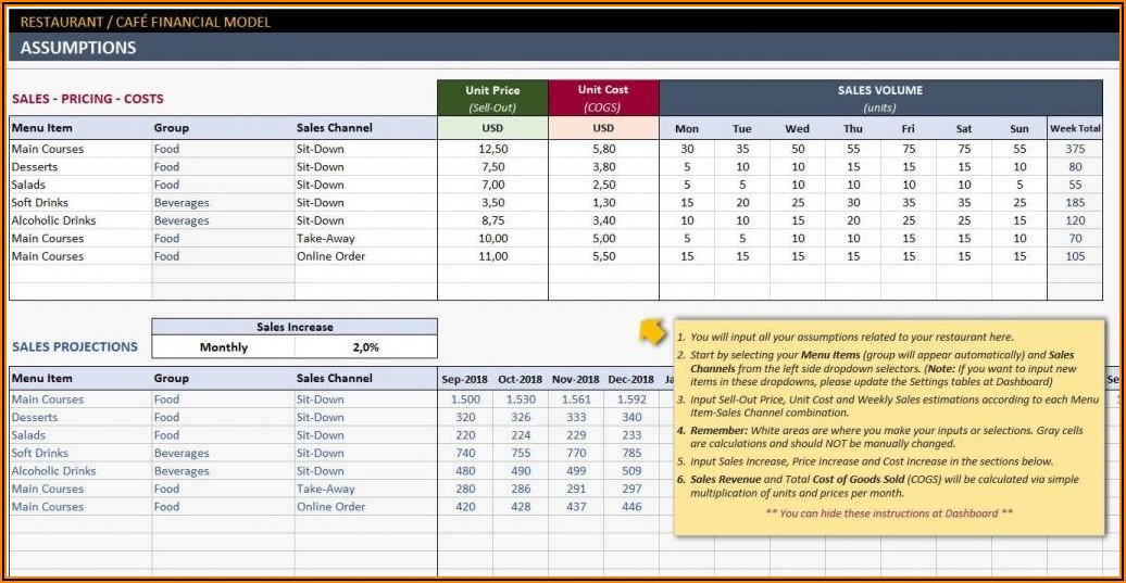 Personal Financial Plan Template Excel Free