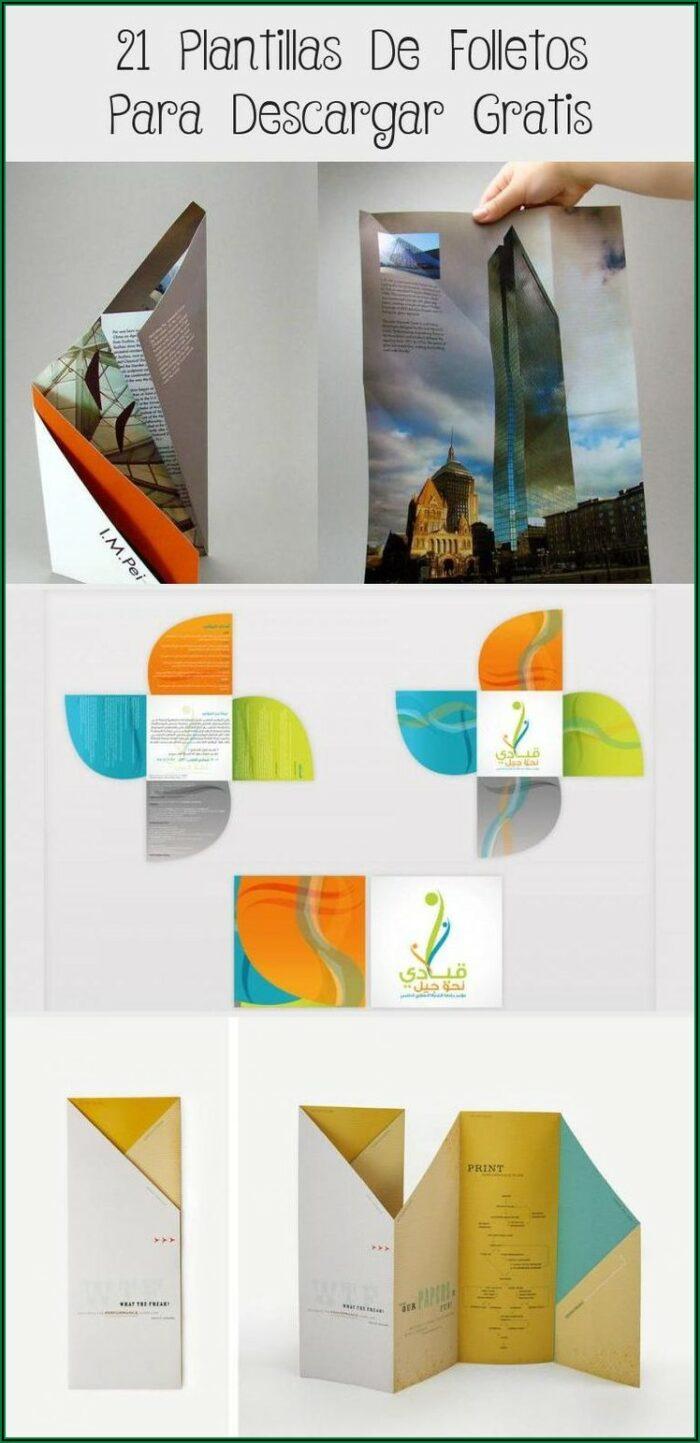 Plantillas Para Brochure Gratis Descargar